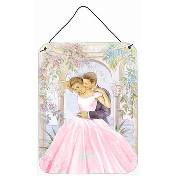Romantic Couple Kiss Wall or Door Hanging Prints APH8293DS1216