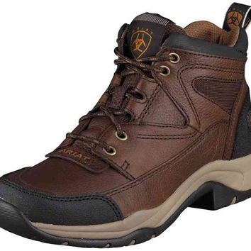 Ariat Women's Oiled Rowdy Hiking Shoes in Terrain Brown,  10004128