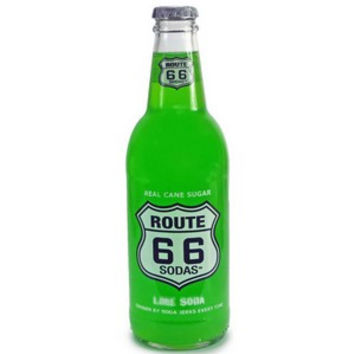 Route 66 Lime Soda