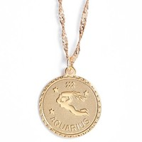 CAM Ascending Aquarius Pendant Necklace | Nordstrom