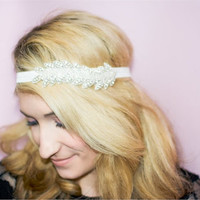 The Candice, Art deco Headband, Women's Accessories, Vintage, Roaring 20's Headband, Hair Accessories, Greek Goddess