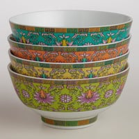 Shanghai Rice Bowls, Set of 4 - World Market