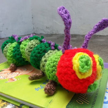 Eric Carle's Crocheted Very Hungry Caterpillar