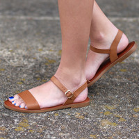 Madden Girl: Blurt Sandals {Tan}