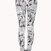 Comic Pop Leggings
