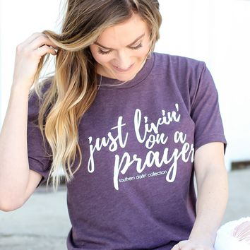 Southern Darlin' - Livin' On A Prayer Tee