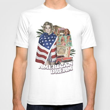 Marina and The Diamonds | AMERICAN DREAM T-shirt by Kevin Potter