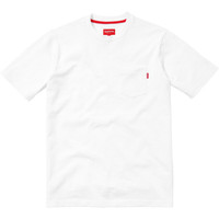 Supreme: Pocket Tee - White