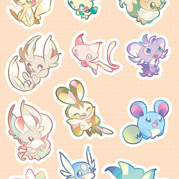 Cutest Pokemon Stickers