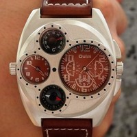 Watch Stylish Dial Quartz Watch [6542555651]