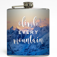 Climb Every Mountain - Camping Flask