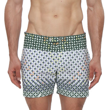 "5"" Lido Braniff Print Tailored Swim Trunk"