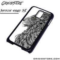 lion tatto For Samsung Cases Phone Covers Phone Cases Samsung Galaxy S5 Case Samsung Galaxy S5 Case Smartphone Case