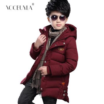 Voobuyla Kids Toddler Boys Jacket Cotton Coat for Children Outerwear Clothing Casual Baby Girls Clothes Autumn Winter Parkas