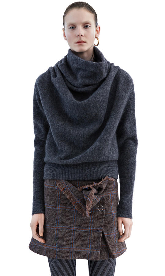 Acne Studios - Vendome mohair dark grey from Acne Studios   Quick bee3cbc3bde