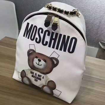 MOSCHINO Casual Sport Laptop Bag Shoulder School Bag Backpack G-A-GHSY-1-1
