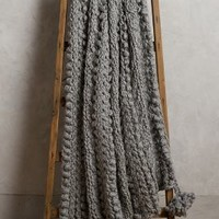 Hand-Knit Sweater Throw by Anthropologie