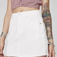 Run This Town Denim Skirt