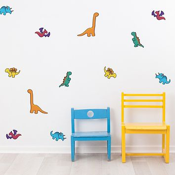Dinosaurs Mini-Pack Wall Decals