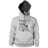 Trout Club Fly Fishing Hoodie Fish Trip Carp Hoody Rod Bait Angling Top 212
