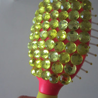 Rhinestone Hair Brush