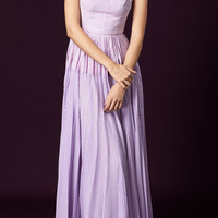 Pleated Skirt Gown | Moda Operandi