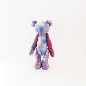 Astronomy | Galaxy print Teddy Bear, Nebula, Psychedelic Bear, Not just for kids!