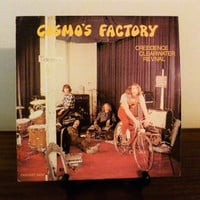 """Vintage 1970 Creedence Clearwater Revival """"Cosmo's Factory"""" Vinyl LP Album Released by Liberty Records / Retro Music / Excellent Condition"""