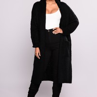 Cardi Love Sweater - Black