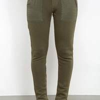 Obey Berlin Olive Green Jogger Pants