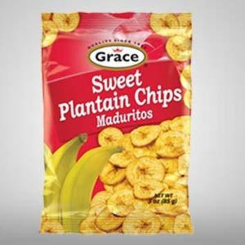 GRACE BANANA, PLANTAINS CHIPS