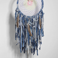 Spoke Woven Denim Dreamcatcher - Urban Outfitters