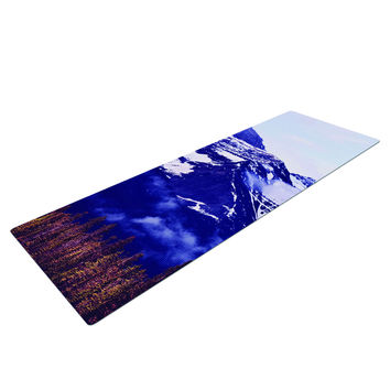 Nirvana Mountains Snow Yoga Mat