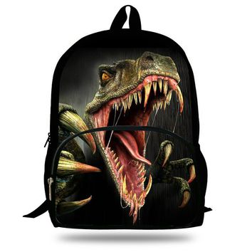 16-Inch 2015 Hot Children Animal Bag Dinosaur Backpacks For School