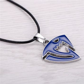 Fairy Tail Saber Tooth Blue Anime Pendant Necklace