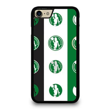 BOSTON CELTICS ANNOUNCE NEW LOGO iPhone 4/4S 5/5S/SE 5C 6/6S 7 8 Plus X Case