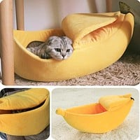 Cat And Dog  Cushion Bed