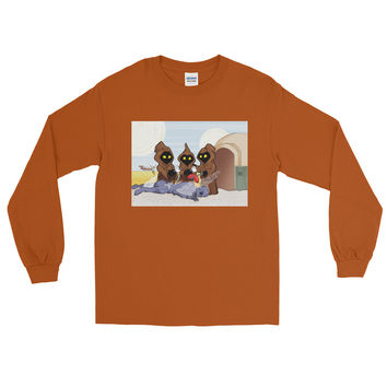 Weenie Roast Men's Long Sleeve T-Shirt