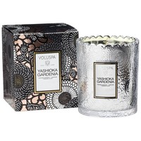 Voluspa Yashioka Gardenia Scalloped Candle