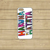 iphone 5S case,iphone 5C case,iphone 5S cases,cute iphone 5S case,cool iphone 5S case,iphone 5C case,5S case--hakuna matata,in plastic