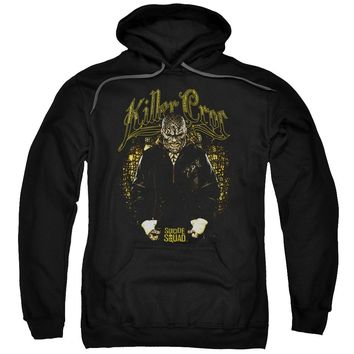 Suicide Squad - Killer Croc Skin Adult Pull Over Hoodie