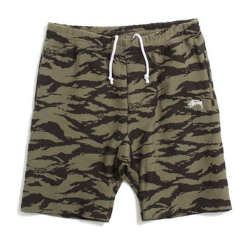 Stock Fleece Shorts Camo