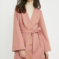 The East Order Dhalia Pink Mini Dress | Urban Outfitters
