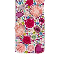 ASOS Clip On iPhone 5 Case With 3D Flower And Jewels