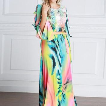 Gradient Women's Maxi Dress