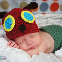 The Very Hungry Caterpillar Newborn Photo Prop
