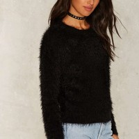 Shake Some Action Faux Fur Sweater