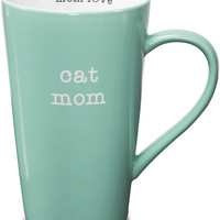 cat mom Latte Mug