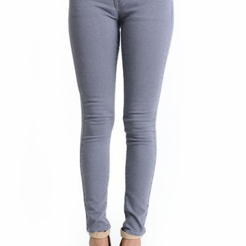 Curvy Girl Grey Low Rise Skinny Jeans