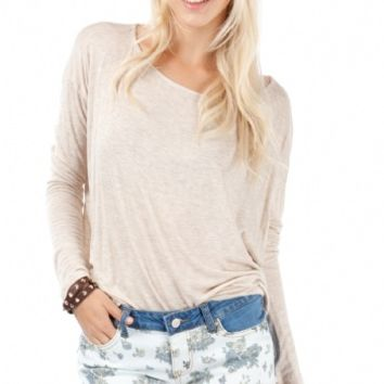 Oatmeal soft amp simple long sleeve from angl epic wishlist